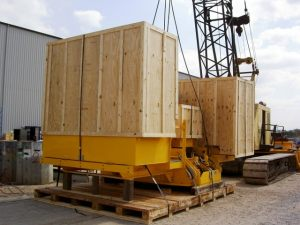 AIS Export Packed Crane