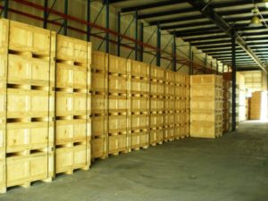 Boxes built for US Department of Defense