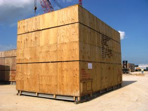 Module for a water treatment plant in route to Cabinda